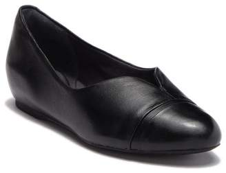 Rockport V Cap Leather Ballet Flat