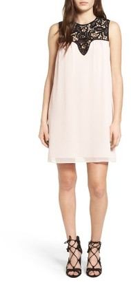 Women's Wayf Portrait Shift Dress $75 thestylecure.com