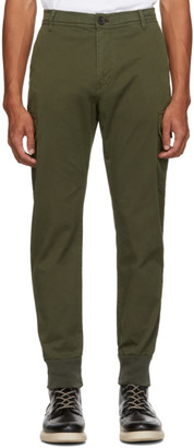 Paul Smith Green Military Cargo Pants