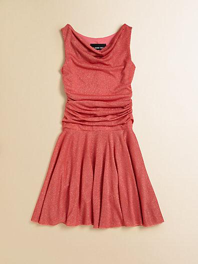 Un Deux Trois Girl's Sparkle Knit Dress