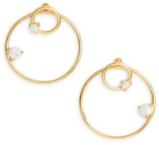 Argentovivo Sydney Double Open Ring Earrings