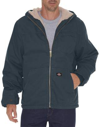 Dickies Men's Sherpa-Lined Hooded Jacket