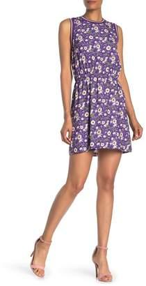 Anna Sui Floating Flowers Sleeveless Dress