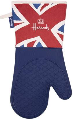 Harrods Vintage Flag Silicone Oven Glove