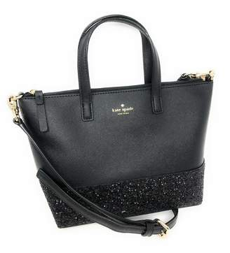 Kate Spade Ina Greta Court Glitter Crossbody Bag Top Handle Handbag
