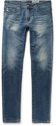 AG Jeans Stockton Skinny-Fit Stretch-Denim Jeans - Men - Mid denim