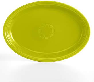 """Fiesta Lemongrass 19"""" Oval Serving Platter"""