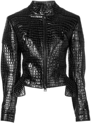 Tom Ford embossed leather jacket
