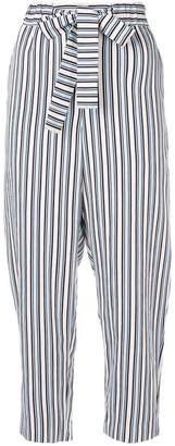 Parker Chinti & knot detail cropped trousers