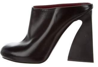 Stella McCartney Vegan Round-Toe Mules