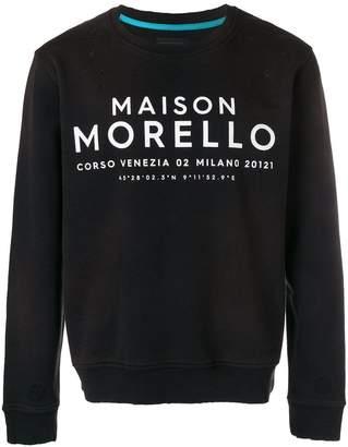Frankie Morello Maison Morello sweatshirt