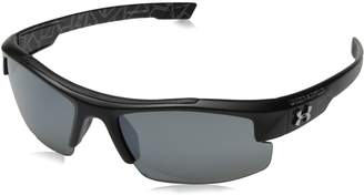 Under Armour Nitro L Youth Large 8600048-018801 Sunglasses, Satin Black