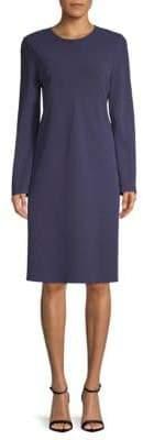 Lafayette 148 New York Kalitta Long-Sleeve Shift Dress