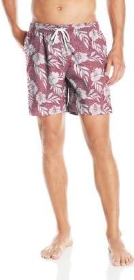Trunks Men's San O 6.5 Inch Pattern Swim Trunk