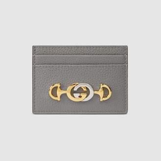 Gucci (グッチ) - 〔グッチ ズゥミ〕オンライン限定 グレインレザー カードケース