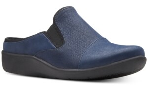 Clarks Collection Women's CloudSteppers Sillian Free Mules Women's Shoes