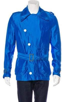 Aquascutum London Silk Woven Jacket