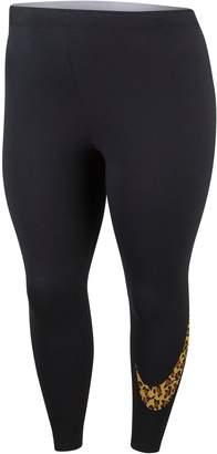 Next Womens Nike Curve Animal Print Legging