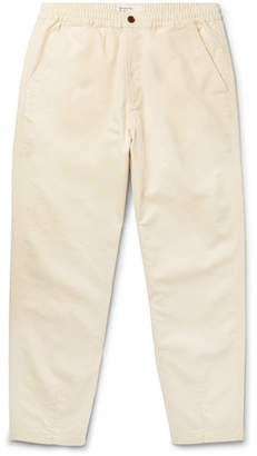 Universal Works Tapered Cotton-Blend Twill Trousers
