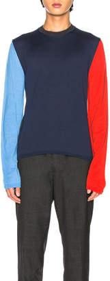 Comme des Garcons Knit in Blue | FWRD