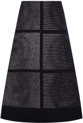 Tsumori Chisato Glitter Pattern Skirt