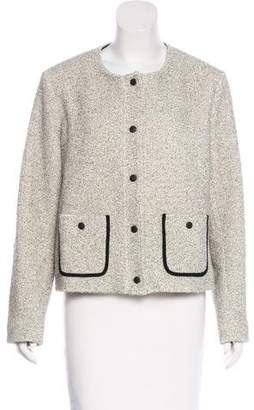 Rag & Bone Collarless Textured Jacket
