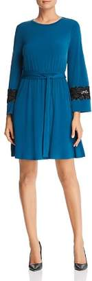 MICHAEL Michael Kors Lace Trim Dress
