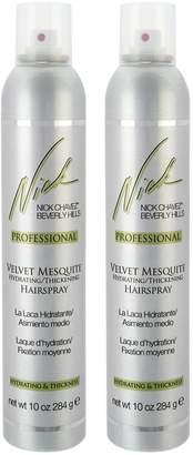 Nick Chavez Velvet Mesquite Hairspray Duo