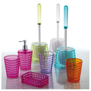 Nameeks Gedy by Glady Free Standing Toilet Brush and Holder