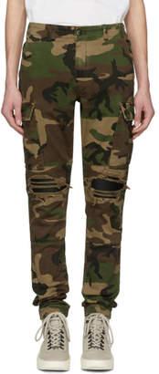 Amiri Multicolor Camo MX1 Classic Cargo Pants