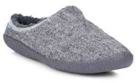 Toms Washed Canvas Slippers