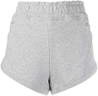 adidas by Stella McCartney logo embroidered running shorts
