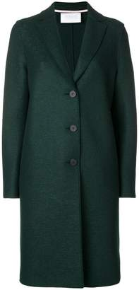 Harris Wharf London straight overcoat