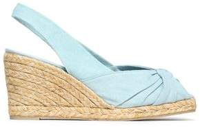 Castaner Dayana Twisted Canvas Wedge Espadrilles