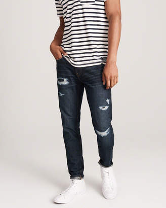 Abercrombie & Fitch Ripped Super Skinny Jeans