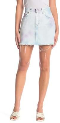 Hudson Jeans The Viper Mini Skirt