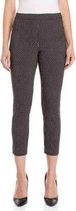 Rafaella Petite Geo Digital Pull-On Pants