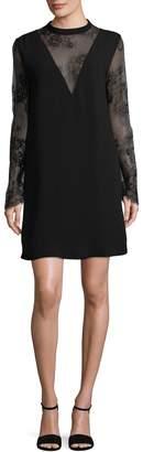 Allison Collection Women's Lace Shift Dress