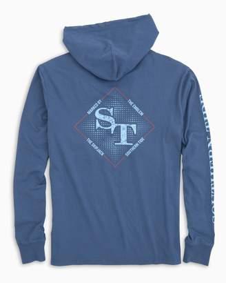 Southern Tide Gradient ST Long Sleeve Hoodie T-shirt