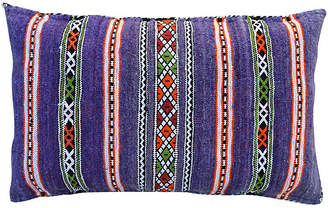 One Kings Lane Vintage Purple Moroccan Pillow - The Moroccan Room