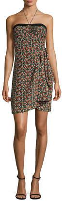 Anna Sui Strawberry Fields Halter Dress