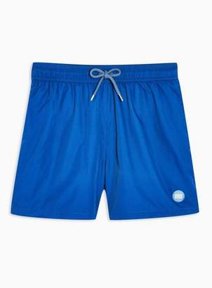 Topman Mens Navy Blue Swim Shorts