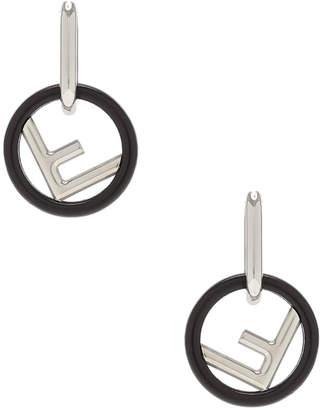 Fendi Small Logo Drop Earrings