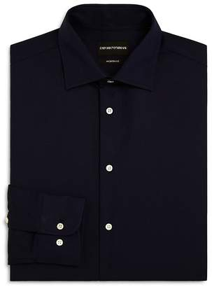 Emporio Armani Tonal Stitch Regular Fit Dress Shirt