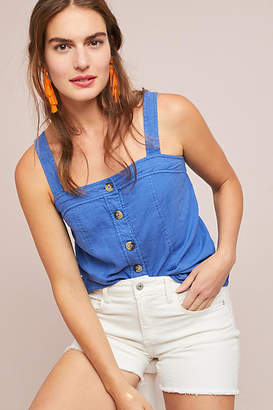 Maeve Berea Buttondown Top