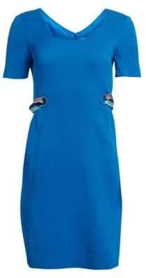 Emilio Pucci Scarf Chain A-Line Dress