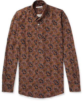 Our Legacy Paisley-Print Twill Shirt