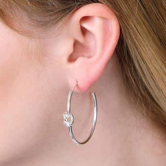 7e2e4b0fb Lovethelinks Friendship Knot Hoop Earrings In Three Colours
