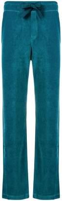 Moncler ankle slit track pants