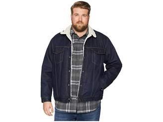 Levi's Big & Tall Big Tall Type III Sherpa Trucker Jacket